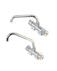 Wasserhahn klappbar - flacher / vorstehender Auslaufhals